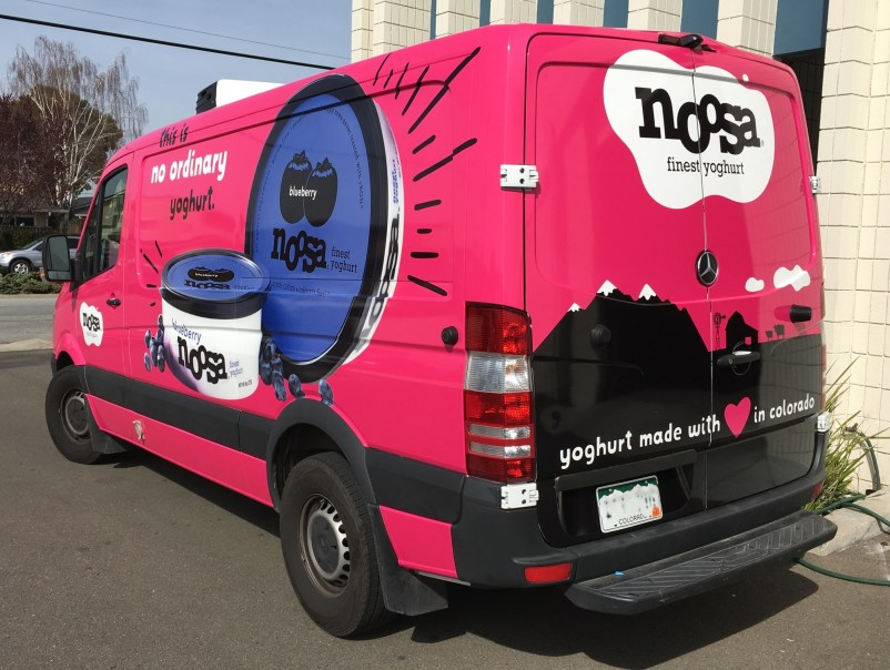 noosa yogurt van wrap