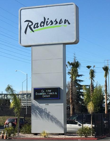 Radisson Large Banner