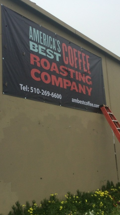 ambestcoffe large sign