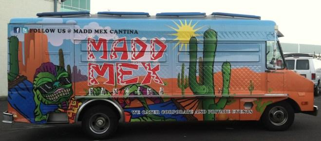 madd mex food truck wrap