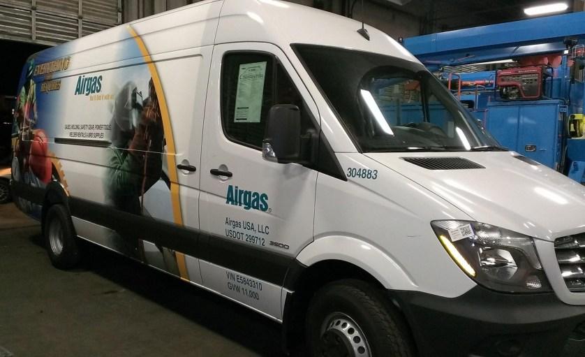 airgas van wrap-01
