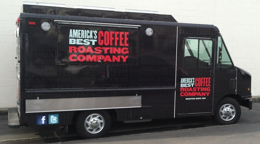 Truck Wrap for America's Best Coffee Company