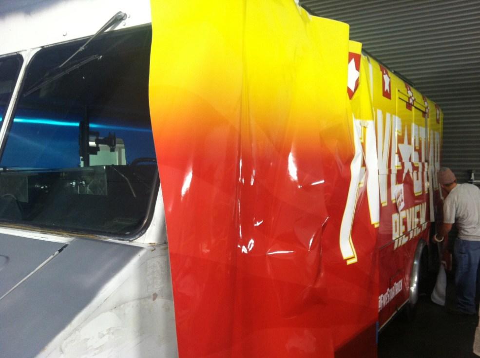 five star food truck wrap-13
