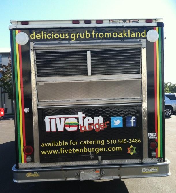 Back of FiveTen Food Truck
