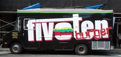 FiveTen Burger Food Truck Wrap Left Profile