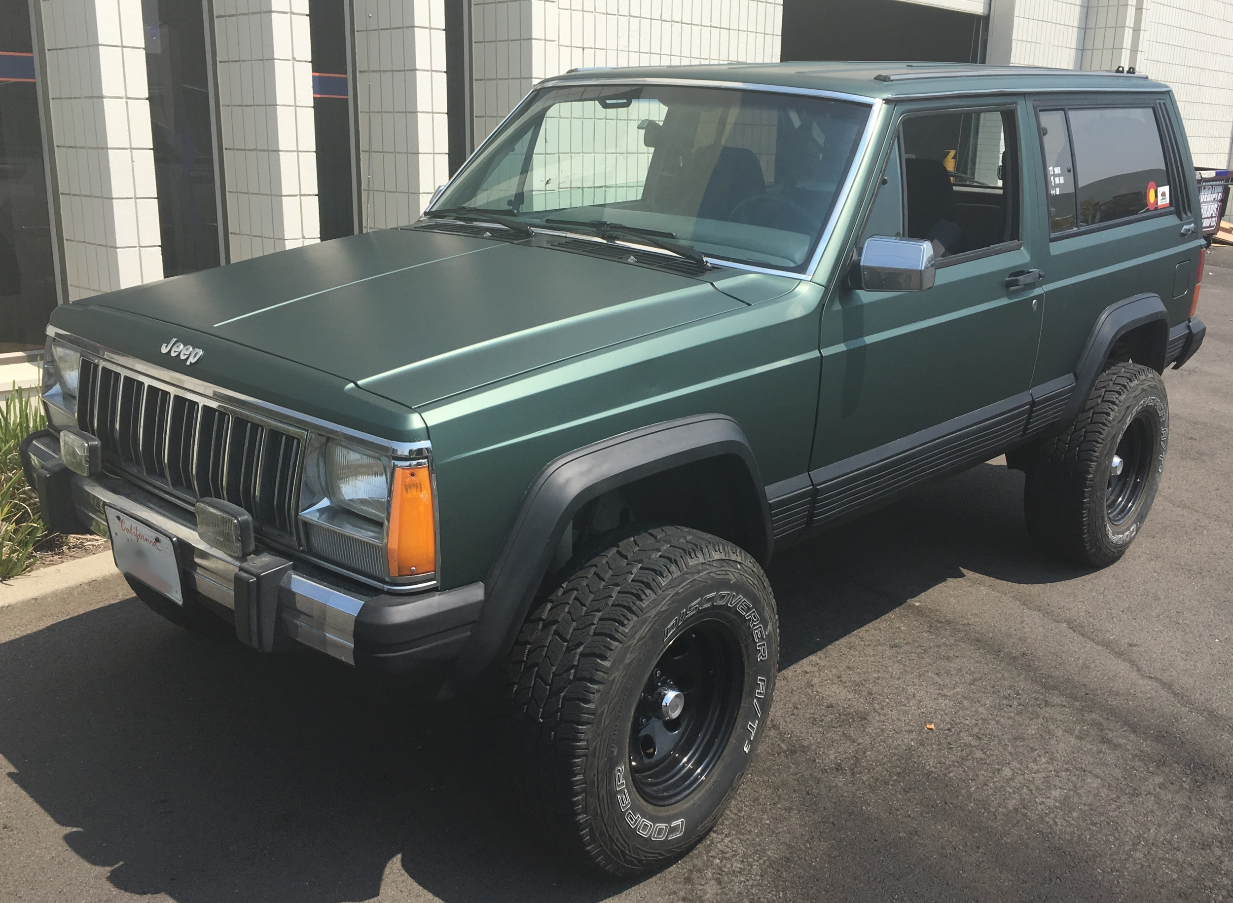 jeep cherokee color wrap – Custom Vehicle Wraps