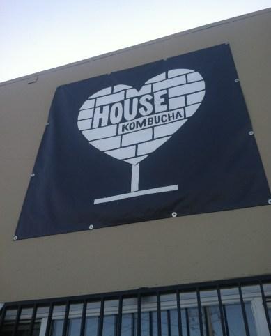 kombucha house sign