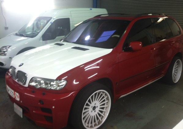 BMW Suv Color Change Wrap-07