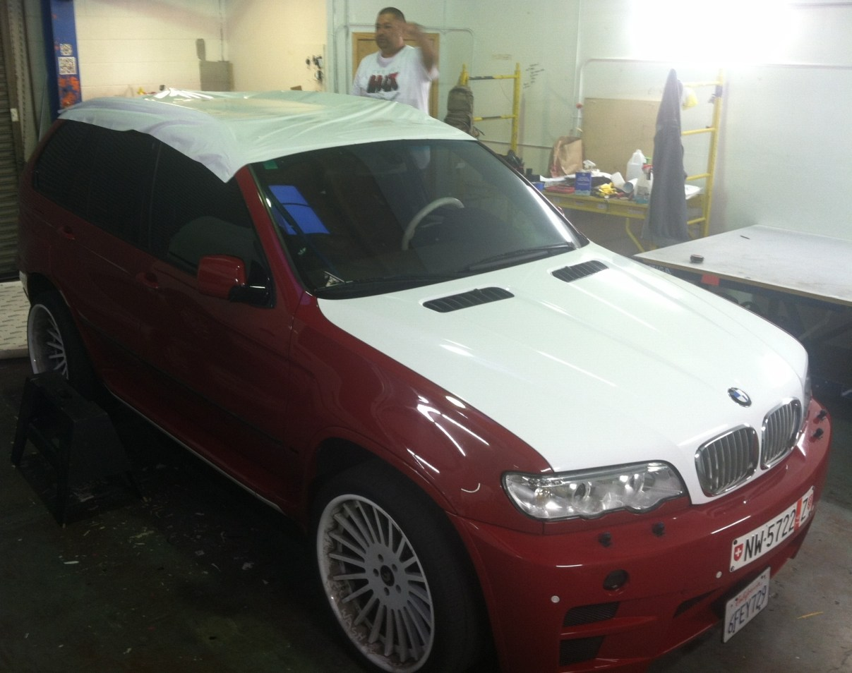 BMW Suv Color Change Wrap-09