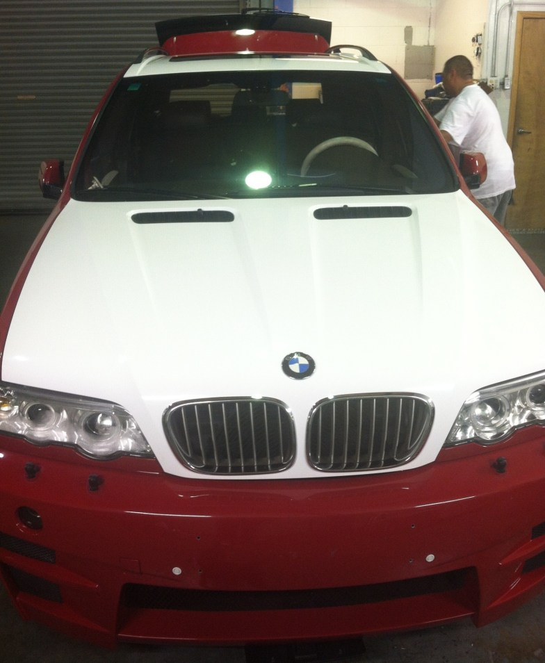 BMW Suv Color Change Wrap-10