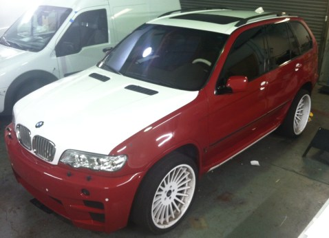 BMW Suv Color Change Wrap-11