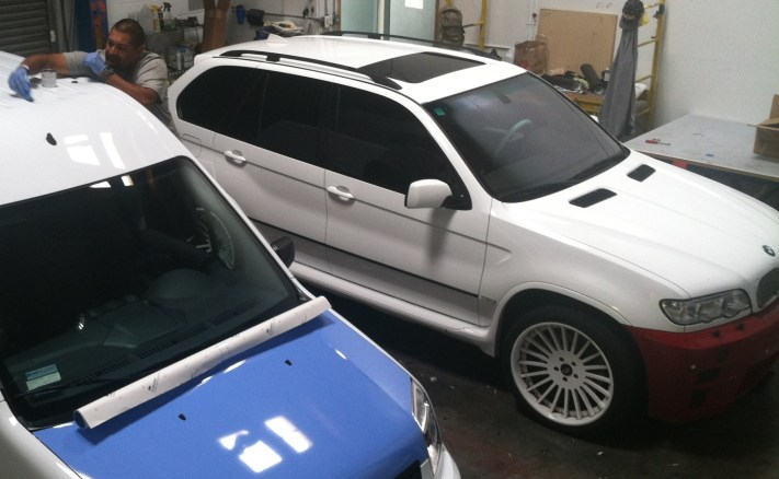 BMW Suv Color Change Wrap-18