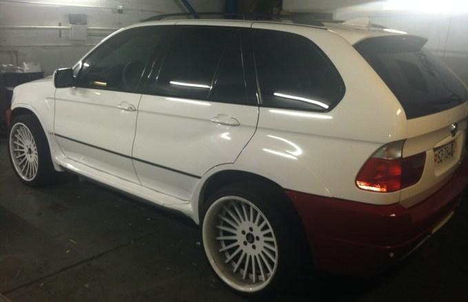BMW Suv Color Change Wrap-20