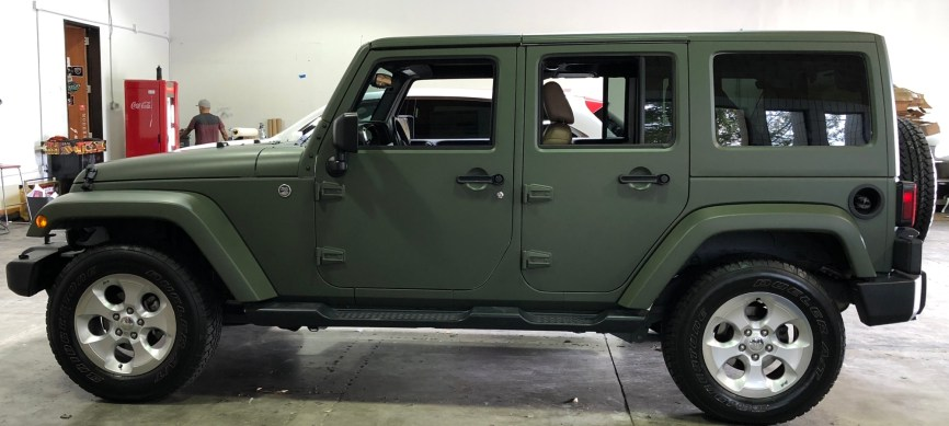military green matte wrap jeep-11