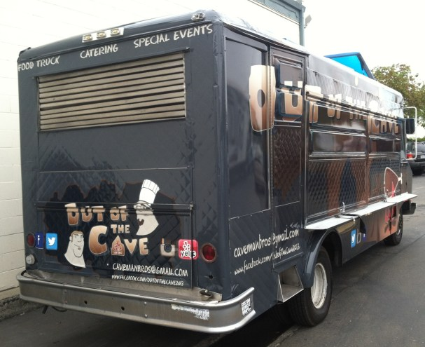 out of the cave food truck wrap-09