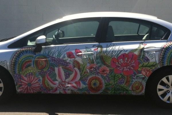 Zipcar Car Wrap