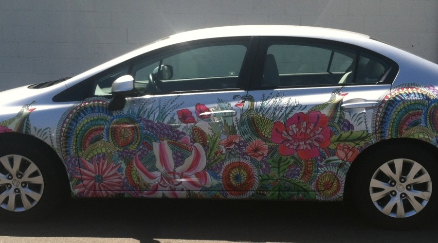 Zipcar Car Wrap