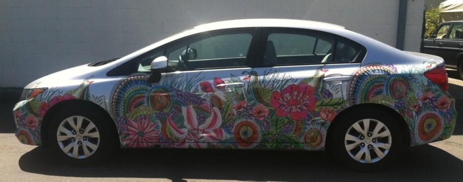 Art Wrap for Zipcar