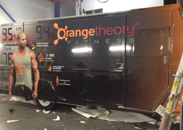 Orange Theory Fitness Car Wrap-04