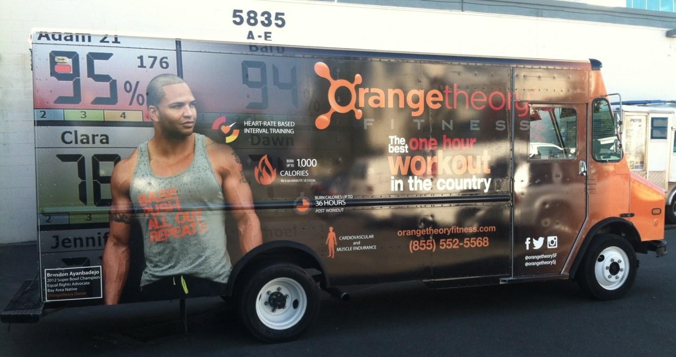 Orange Theory Fitness Car Wrap-07