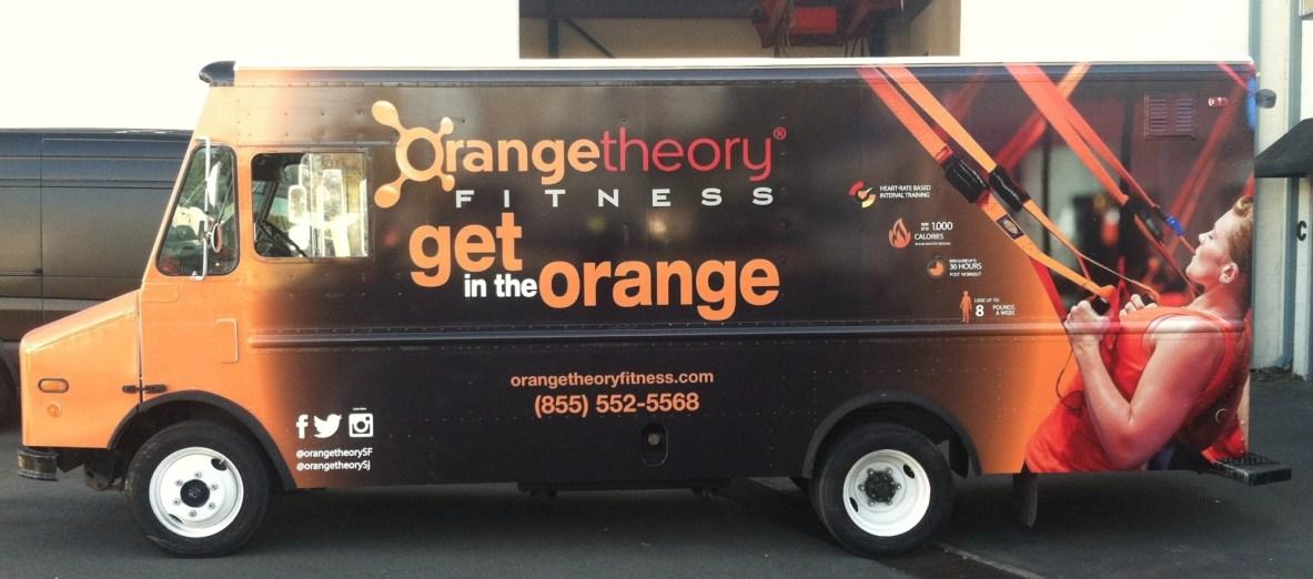 Orange Theory Fitness Car Wrap-09