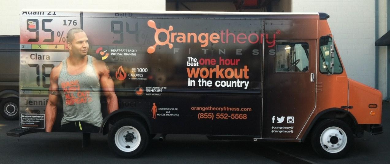 Orange Theory Fitness Car Wrap-10
