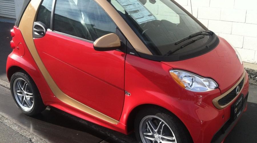 Highlight Wrap for a Smart Car