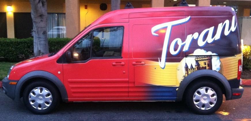 Torani Car Wrap