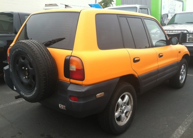 Toyota Yellow Car Wrap-01