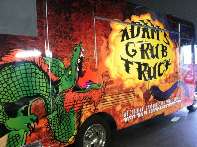 adam's grub truck food truck wrap-01