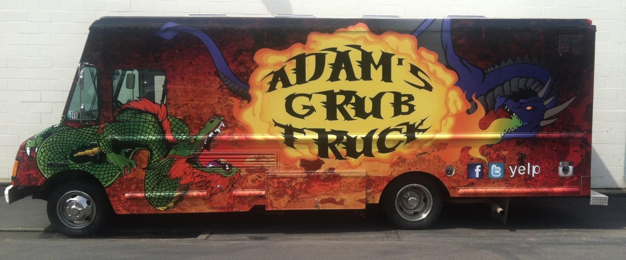 adam's grub truck food truck wrap-03