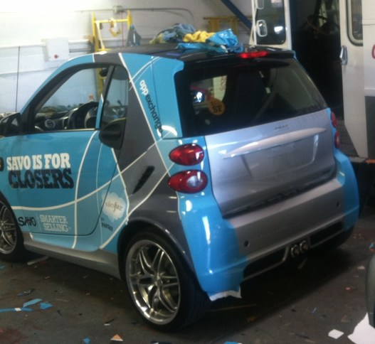 Savo Smart Car Wrap Custom Vehicle Wraps