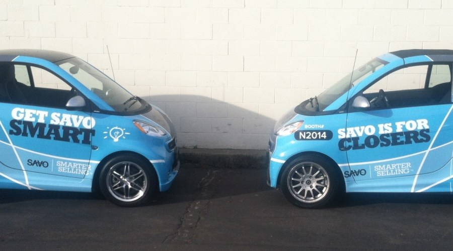 Savo Smart Car Wrap
