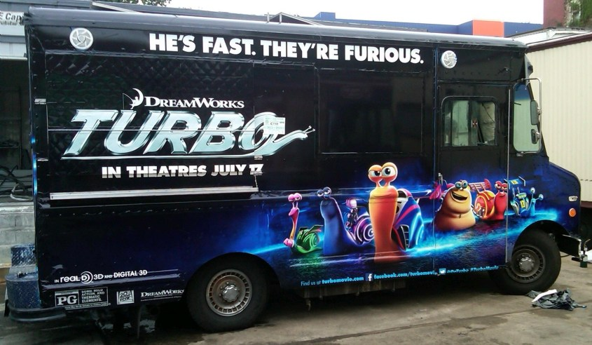 Dreamworks Turbo Van Wrap-01