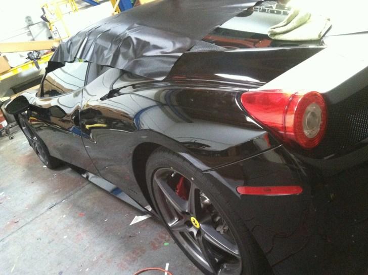 Ferrari Matte Grey Wrap-06