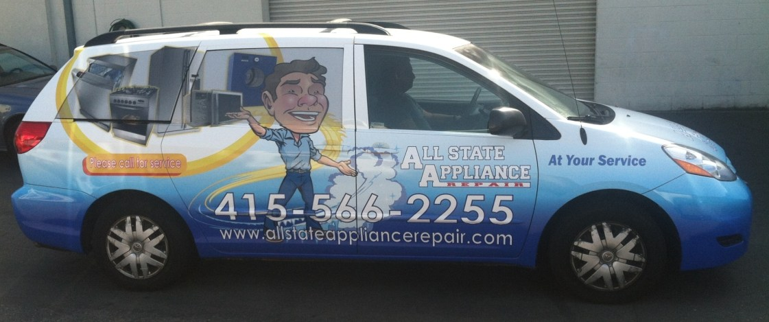 allstate car wrap