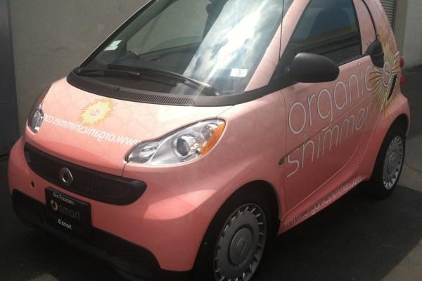 Organic Shimmer Smart Car Wrap
