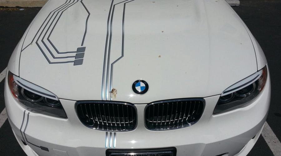 BMW Robo Wrap