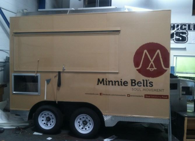 minnie bells trailer wrap
