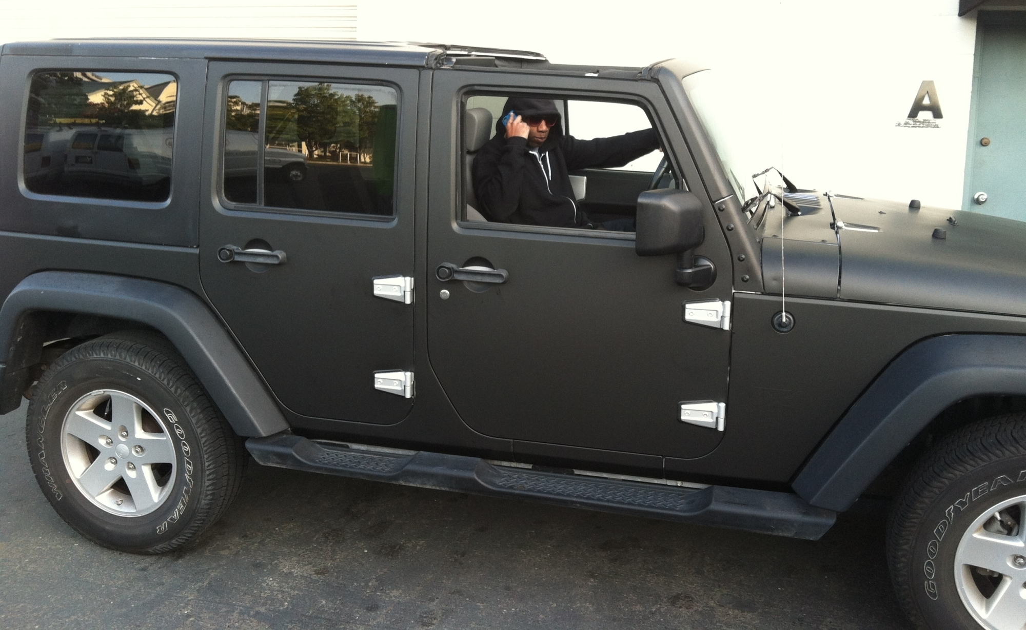 matte black jeep wrap 16 – Custom Vehicle Wraps