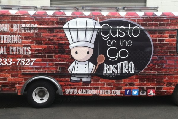 Gusto On The Go Food Truck Wrap