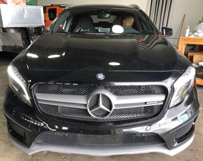 Mercedes Matte Wrap