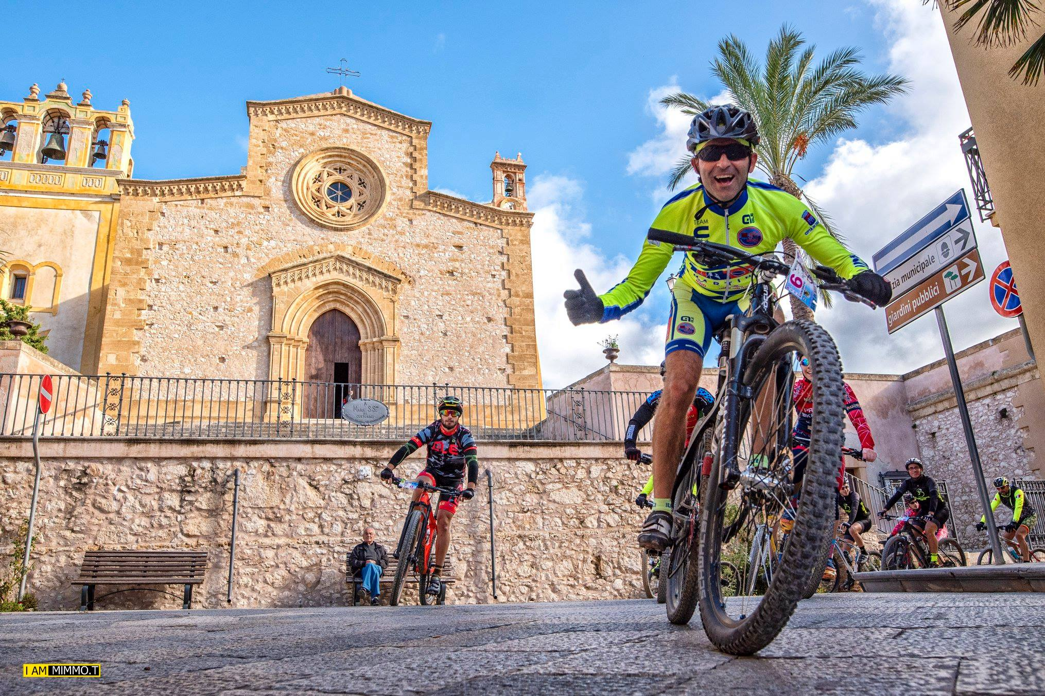 Piu' di 200 bikers da tutta la Sicilia per il 1°raduno MTB di Santa Lucia a Custonaci.