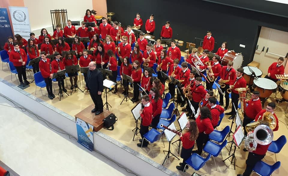 """L'orchestra fiati Maria SS. di Custonaci vince il 1° posto al concorso bandistico """"Ama Calabria""""."""