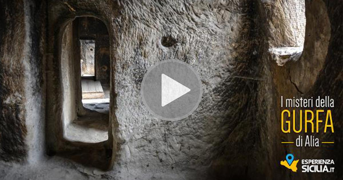 """""""I misteri della Gurfa di Alia"""", uno dei luoghi più suggestivi ed enigmatici di tutta la Sicilia."""
