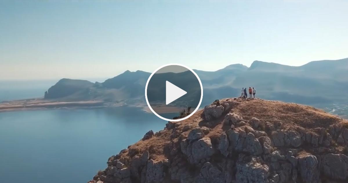 Monte Cofano: il più bel promontorio di Sicilia. Il video di Giuseppe Candela affascina i social