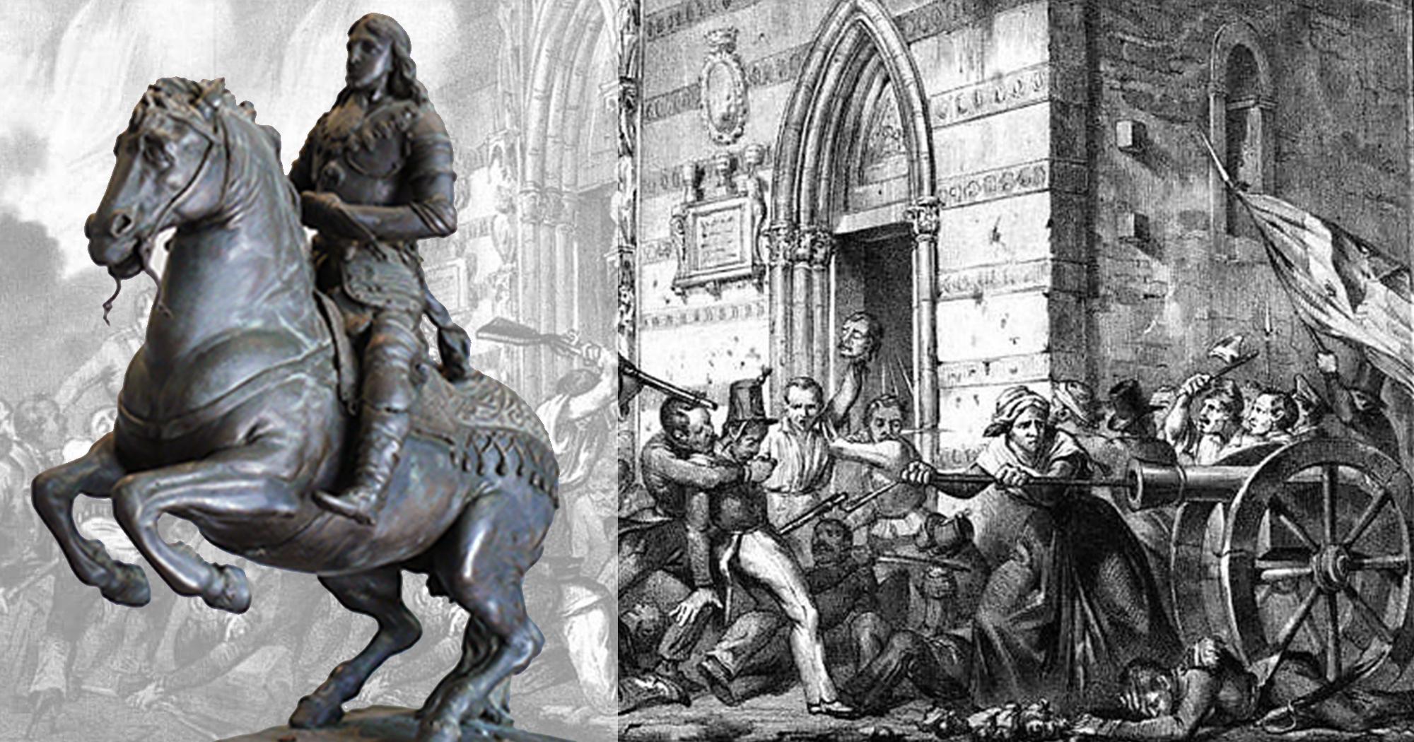 Al Pepoli di Trapani, il bozzetto del monumento a Re Carlo II, distrutto dai rivoluzionari siciliani