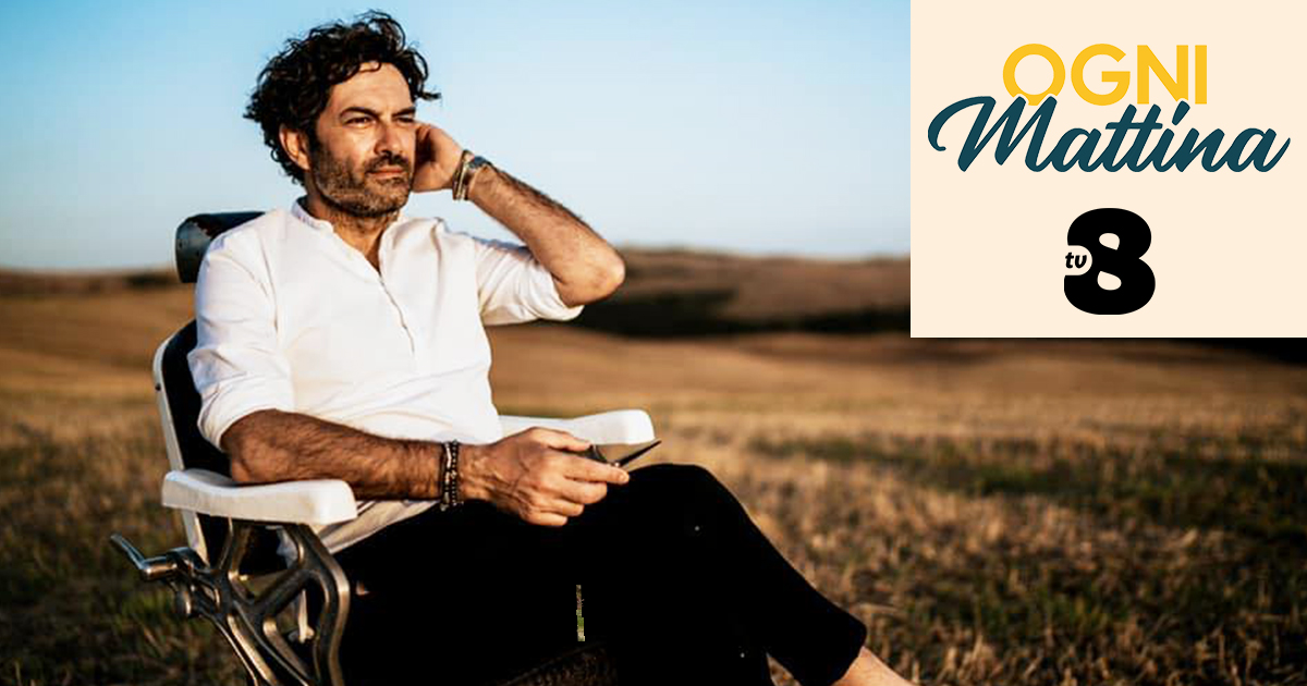 Martedì 25 maggio il custonacese Giuseppe Castiglione sarà su TV8 insieme ad Adriana Volpe