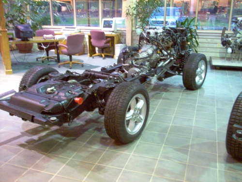 Discovery Series II - Rolling Chassis