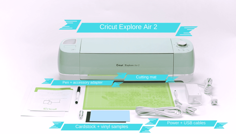 Overview of the Cricut Explore Air 2